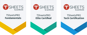 TSheets Pro Certification Badges